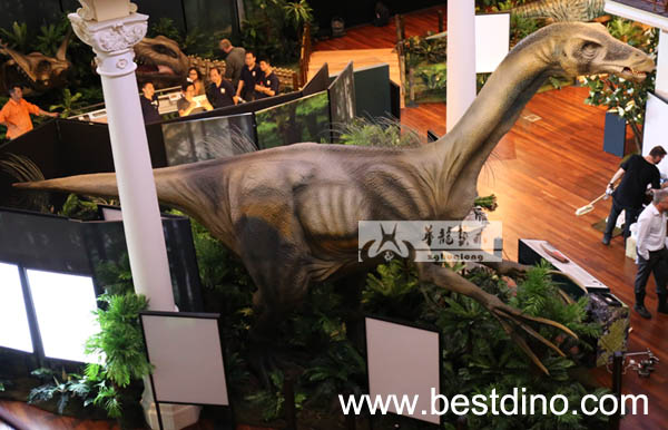 outdoor exhibition model robot dinosaur