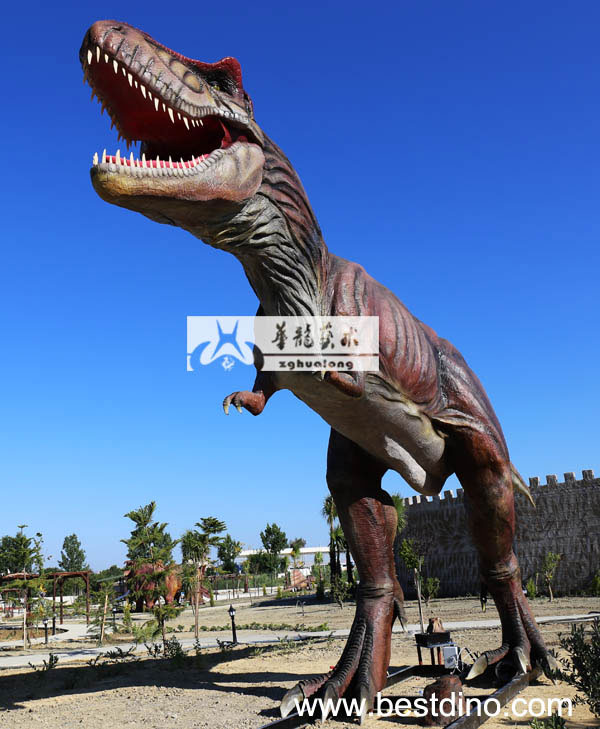 electric simulation dinosaur model for theme park