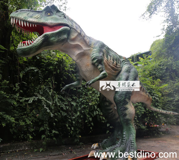 animatronic dinosaur with sound