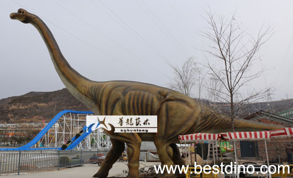park equipment dinosaur brachiosaurus
