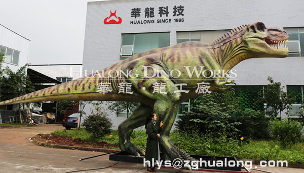 dinosaurs outdoor park