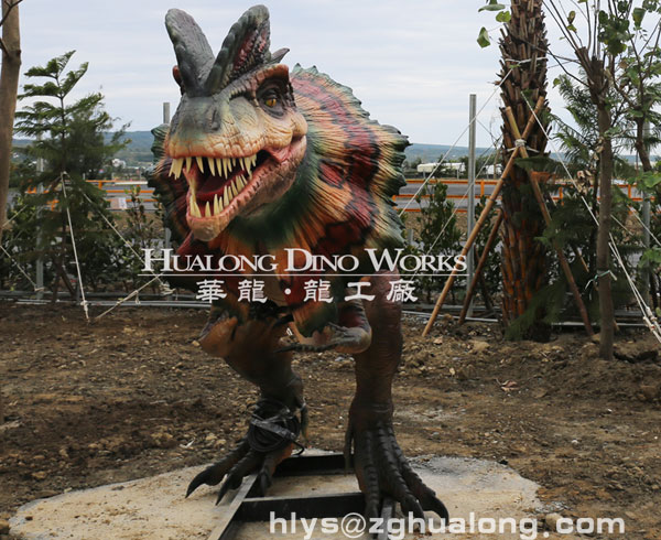 outdoor dinosaurs for exhibition