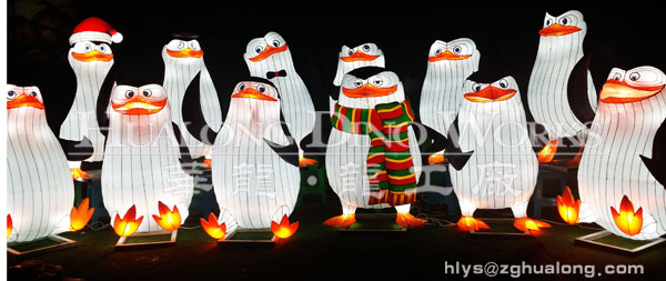 penguins latern